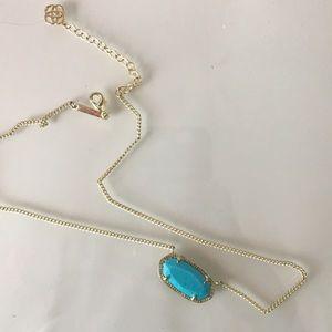 Blue Kendra Scott necklace worn once